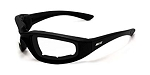 Maxx Foam Motorcycle Sunglasses Clear Lens