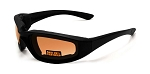 Maxx Foam Motorcycle Sunglasses HD Lenses