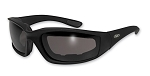 Kickback Motorcycle Sunglasses Smoke Lenses