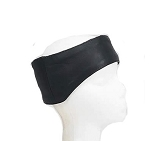 Adjustable Leather Biker Head Band