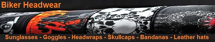 motorcycle headwear banner billys biker gear