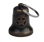 Bronze Star Motorcycle Bell