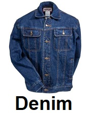 mens denim apparel