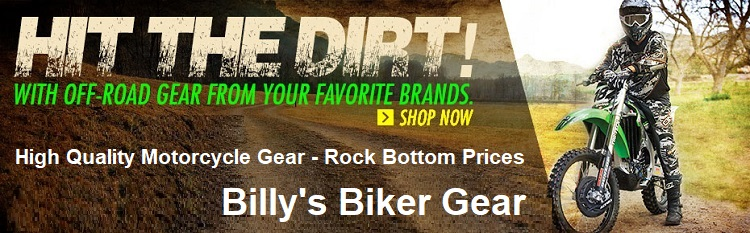 dirt bike gear Billys Biker Gear