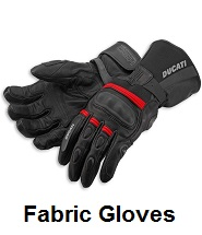 fabric motorcycle gloves
