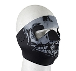 Neoprene Skull Motorcycle Face Mask
