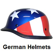biker german helmets