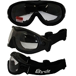 Fit Over Vented Motorcycle Goggles Clear Lens
