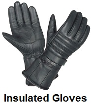 insulated biker gloves