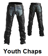 youth motorcycle chaps