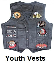 youth motorcycle vest