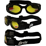 Motorcycle Goggles Yellow Lens 1.0 Bifocals