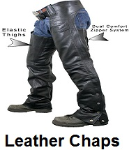 mens leather motorcycle chaps