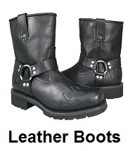 mens leather motorcycle boots