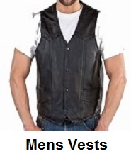 mens motorcycle vests