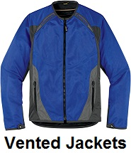 mens vented motorcycle jackets