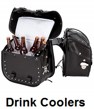 motorcycle drink coolers