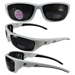 Motorcycle Sunglasses with Removable Foam Padding