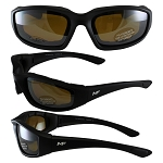 Universal Fit Motorcycle Sunglasses Driving Mirror Lenses