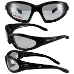 Motorcycle Sunglasses Clear Lenses Quail