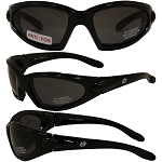 Motorcycle Sunglasses Smoke Lenses Quail