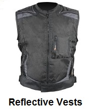 reflective biker vests
