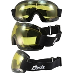 Lightweight Motorcycle Goggles Yellow Lens