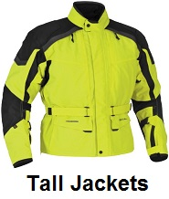 tall mens motorcycle jackets
