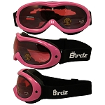 Snow Goggles Rose Mirrored Lens Pink Frame