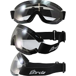 Padded Motorcycle Goggles Clear Lens