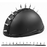 Long Motorcycle Helmet Spike Strip Mohawk