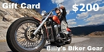 $200 Gift Card - Billys Biker Gear