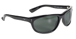 Dirty Harry Sunglasses Dark Grey Green Lenses
