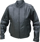Men's Motorcycle Touring Leather Bomber Jacket