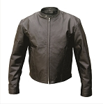 Men's Premium Leather Motorcycle Jacket