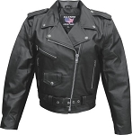 Ladies Basic Leather Motorcycle Jackets