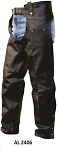 Plain Leather Motorcycle Chaps