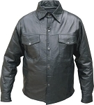 Men's Western Style Leather Shirts