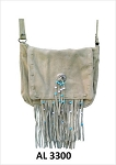 Ladies Tan Western Style Handbag