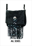 Ladies Black Western Style Handbag