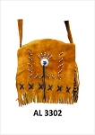 Ladies Brown Western Style Handbag