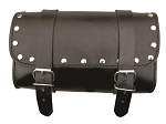 Studded Leather Motorcycle Tool Bag 9-1/2 inch
