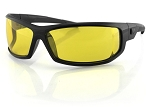 Bobster AXL Sunglasses Yellow Lenses
