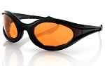 Bobster Foamerz Sunglasses Amber Lenses