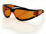 Bobster Shield II Sunglasses Amber Lenses