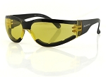 Bobster Shield III Sunglasses Yellow Lenses