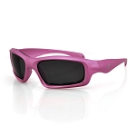 Women's Sunglasses Pink Frame Smoke Lens