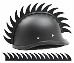 Warhawk Saw Blade Motorcycle Helmet Strip