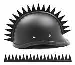 Warhawk Even Blades Motorcycle Helmet Blade Strip