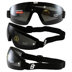 Vented Anti-Fog Skydiving Goggles Smoke Lens